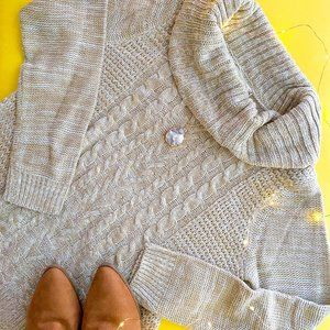 NWT • It's Our Time• Cowl Neck Sweater • Size M